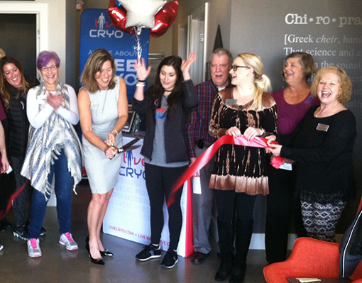 Ribbon Cutting Lakes Area Chamber of Commerce