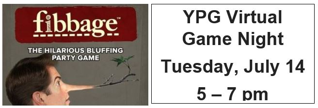 YPG Game Night featuring Fibbage