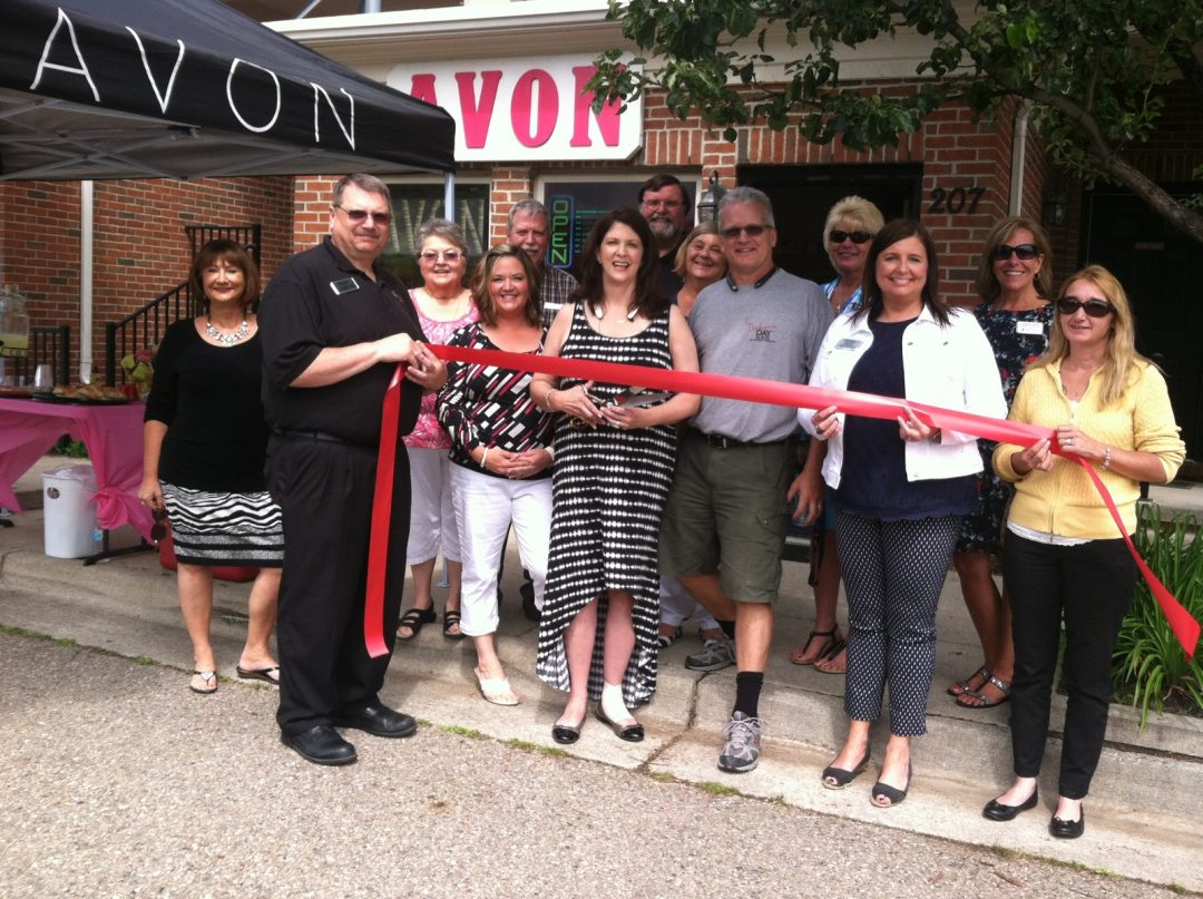 Avon Store Ribbon Cutting - Lakes Area Chamber of Commerce