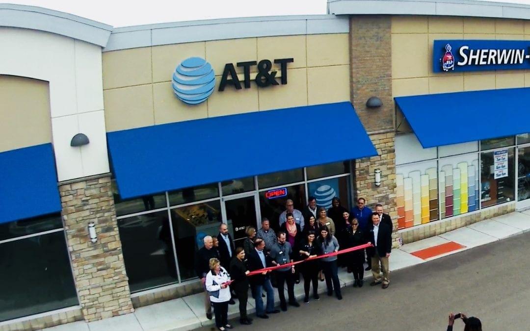 AT&T Wixom Ribbon Cutting