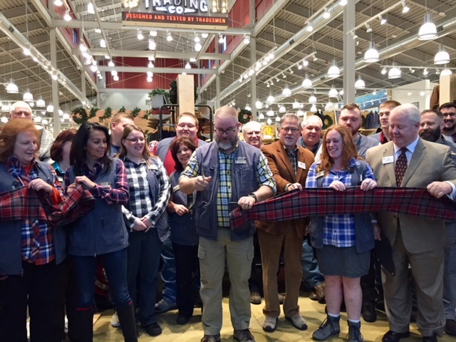 Duluth Trading Ribbon Cutting