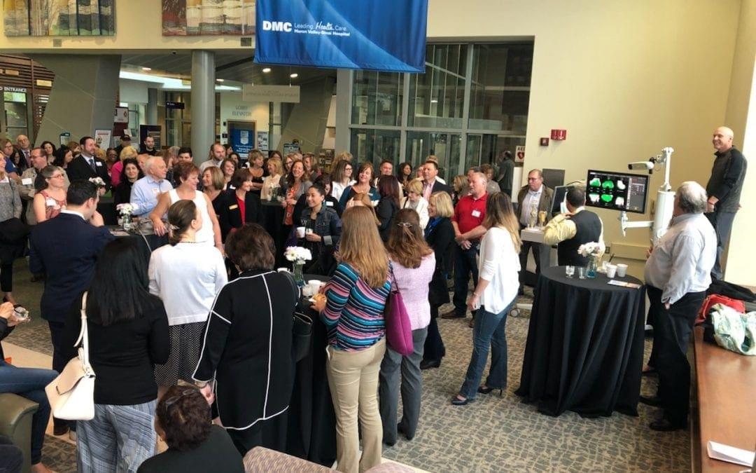 DMC Huron Valley – Sinai Hospital hosts Multi-Chamber Breakfast
