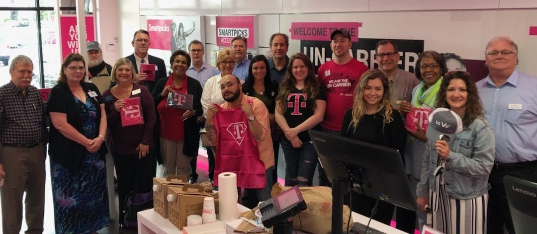 T-Mobile hosts Networking Breakfast