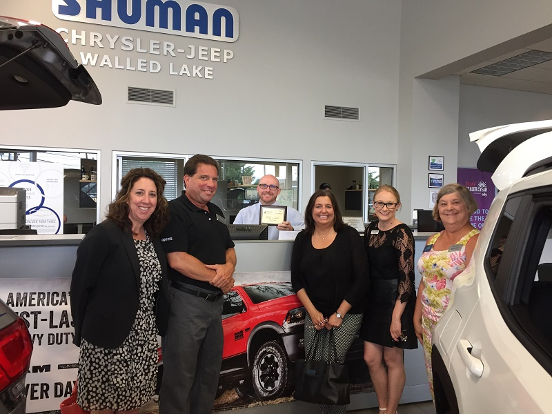 We Thank You Wednesday to Shuman Chrysler Dodge Jeep Ram