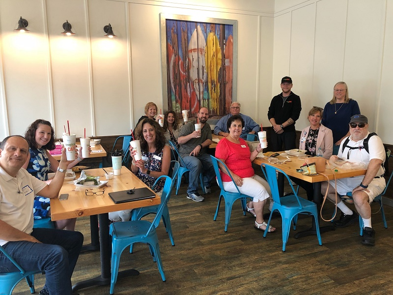 Tropical Smoothie Cafe Commerce hosts Spotlight Lunch