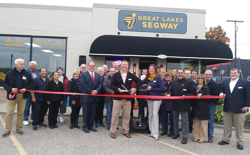 Ribbon Cutting at Great Lakes Segway
