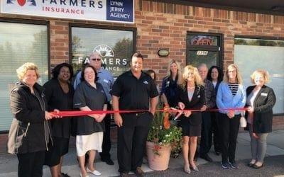Farmers Insurance Lynn Jerry Agency Ribbon Cutting