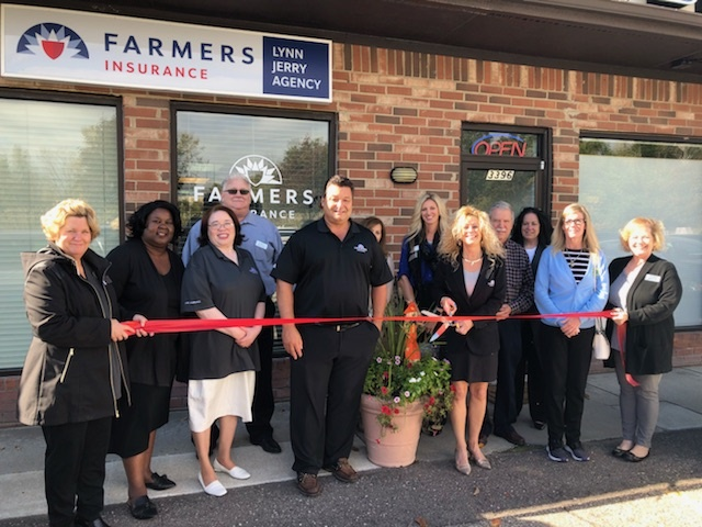 Farmers Insurance Lynn Jerry Agency Ribbon Cutting