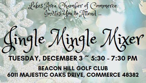 You're Invited … Holiday Jingle Mingle Mixer