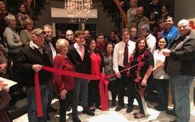 The Red Poppy Ribbon Cutting