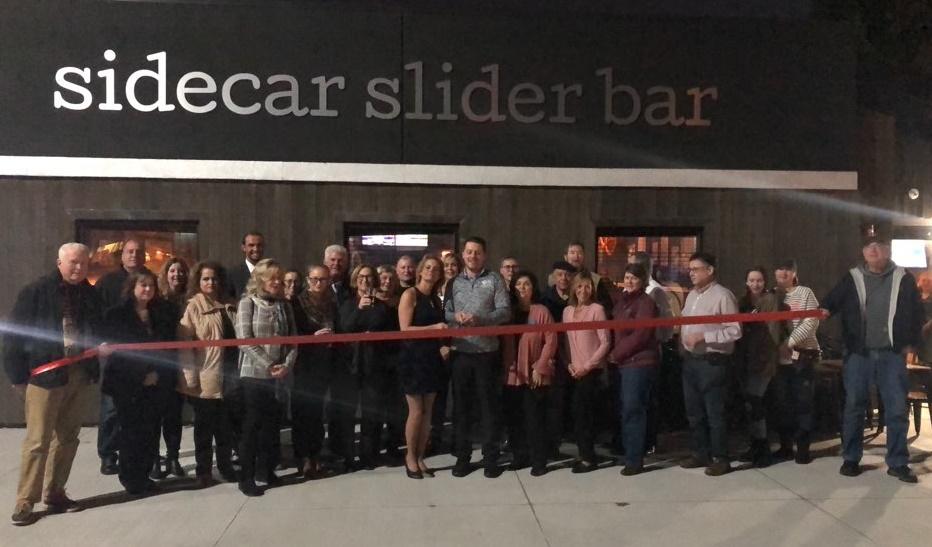 Sidecar Slider Bar Ribbon Cutting