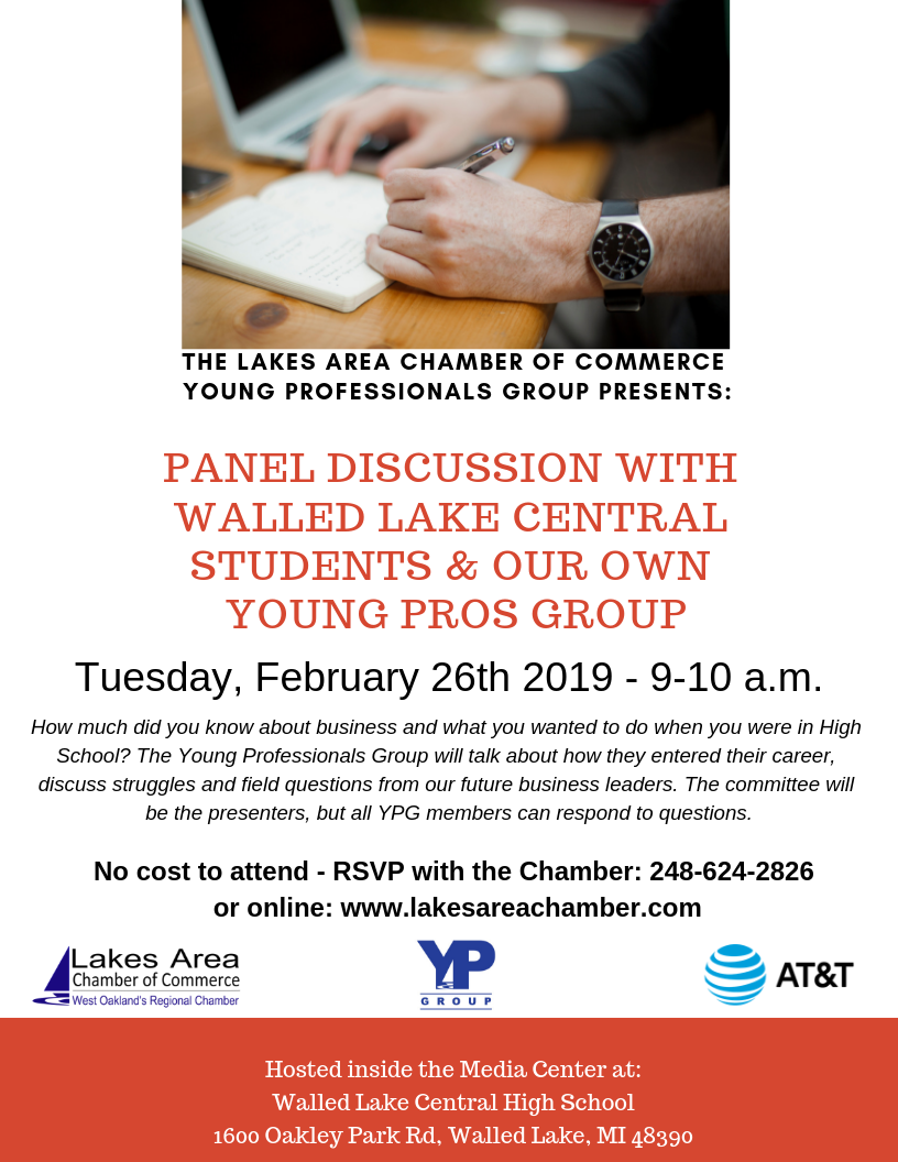 YPG Educational Breakfast - Lakes Area Chamber of Commerce