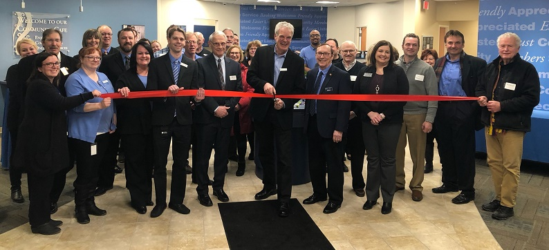 Community Financial Credit Union Ribbon Cutting