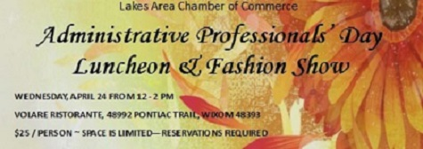 Administrative Professionals' Luncheon & Fashion Show