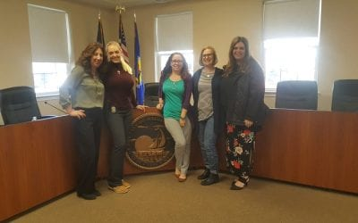 We Thank You Wednesday visit to City of Walled Lake offices