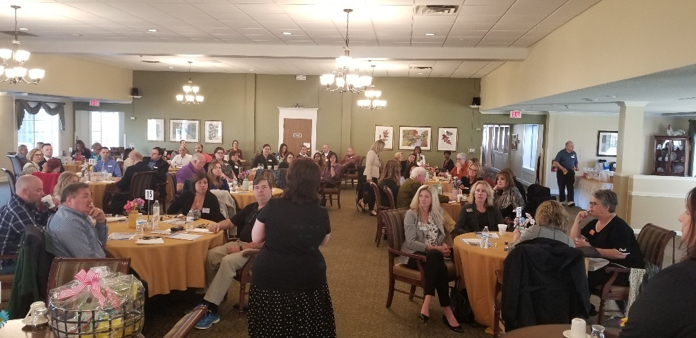 Member Orientation Breakfast at Brookdale of Novi