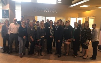 Comerica Bank hosts 3rd Thursday Coffee Connect