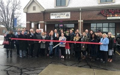 Trail's Edge Cafe' Grand Opening / Ribbon Cutting
