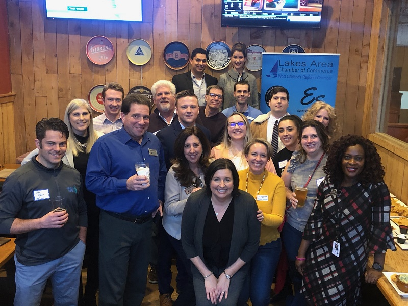 "YPG ""New Year, New Networking"" after-hours event at CJ's Brewing Company"