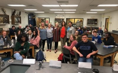 Young Professionals Group at Walled Lake Western High School